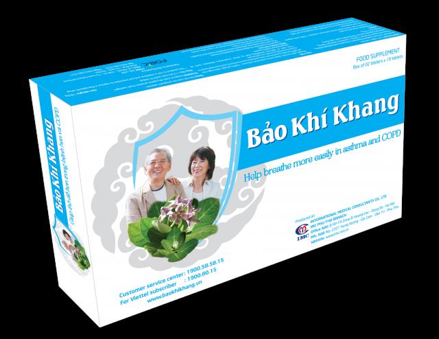 Bao Khi Khang, thuc pham chuc nang, sản phẩm thực phẩm chức năng 1