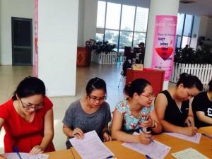 """CBNV Công ty IMC tham gia ngày hội hiến máu """"Giọt hồng yêu thương"""""""