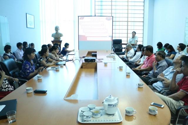 Công ty IMC học tập, quán triệt nghị quyết lần thứ XI Ban chấp hành Trung Ương Đảng khóa XI của Đảng bộ công ty IMC