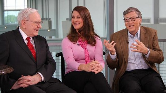 Make billions, then give it away: Gates, Buffett talk philanthropy