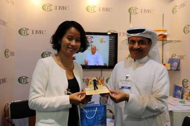 IMC tham dự hội chợ MENOPE DUBAI