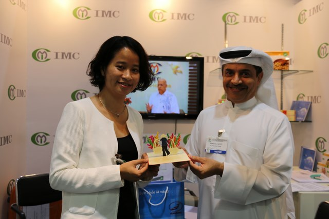 IMC (International Medical Consultants Co., Ltd.) participated the greatest Middle East trade fair