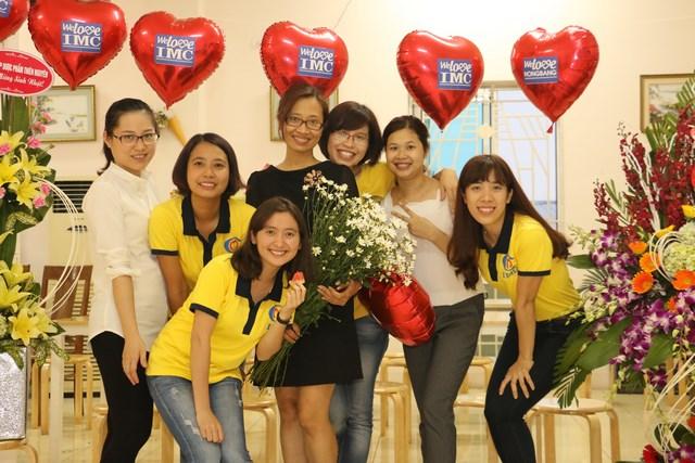 IMC – Chúc mừng ngày Quốc tế Phụ nữ mùng 8 tháng 3