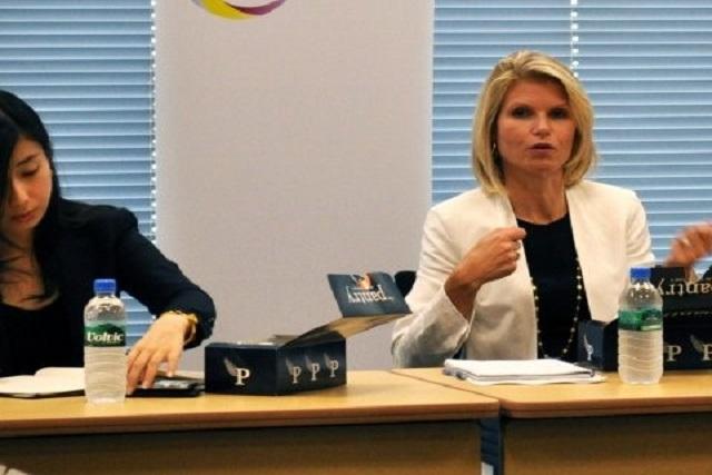 Liz Myers est la directrice mondiale du marché des actions de JPMorgan
