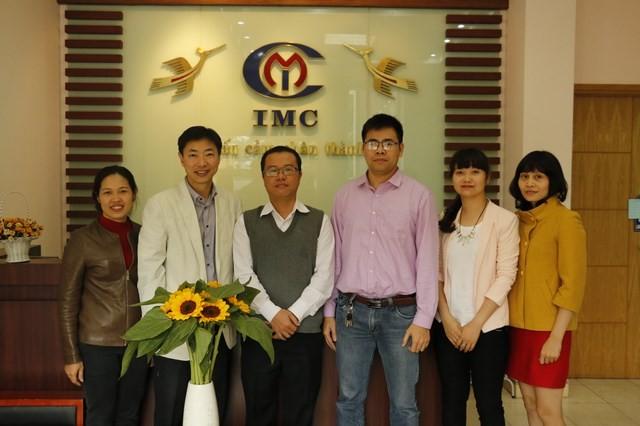 IMC  hợp tác nghiên cứu sản xuất TPCN với đối tác Hàn Quốc