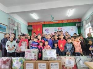 Đón xuân sớm tại Trung tâm công tác xã hội tỉnh Bắc Giang