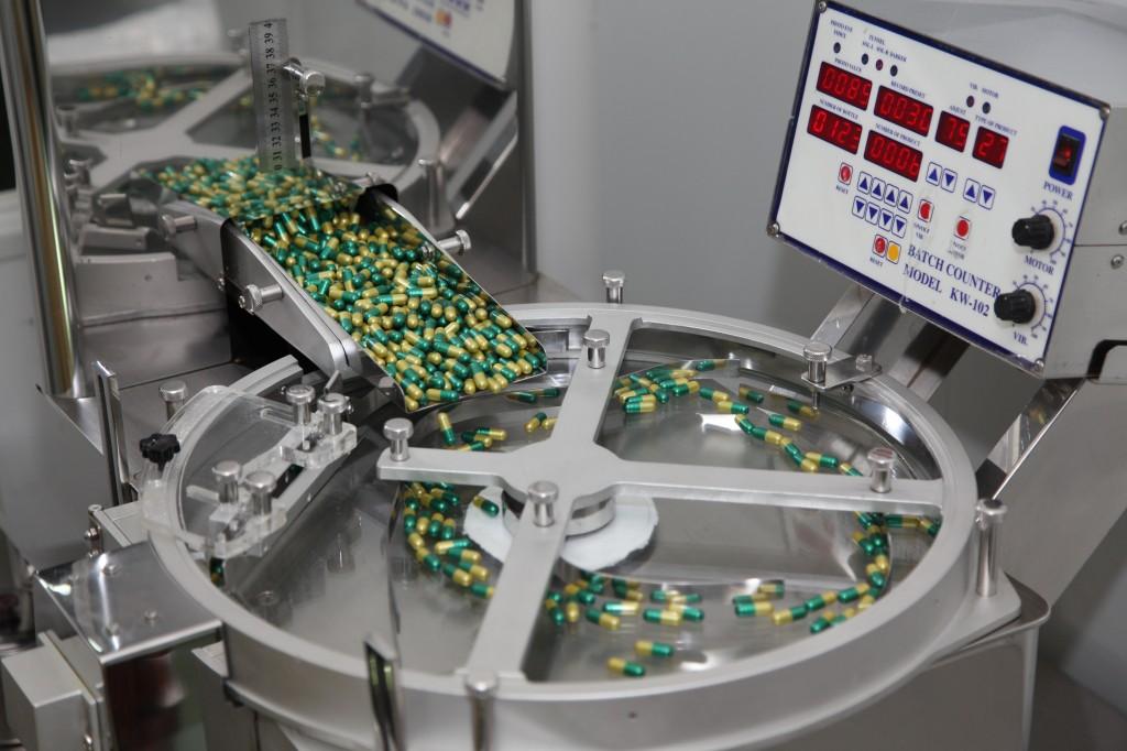 Quy trình sản xuất thực phẩm chức năng dạng viên nang