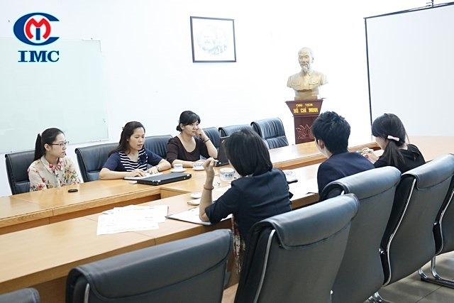 IMC – Gặp gỡ và làm việc với tổ chức xúc tiến thương mại JETRO Nhật Bản