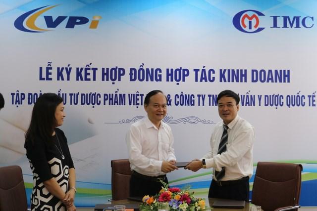 IMC – Ký kết hợp đồng nguyên tắc với công ty CPĐT Dược phẩm Việt Nam