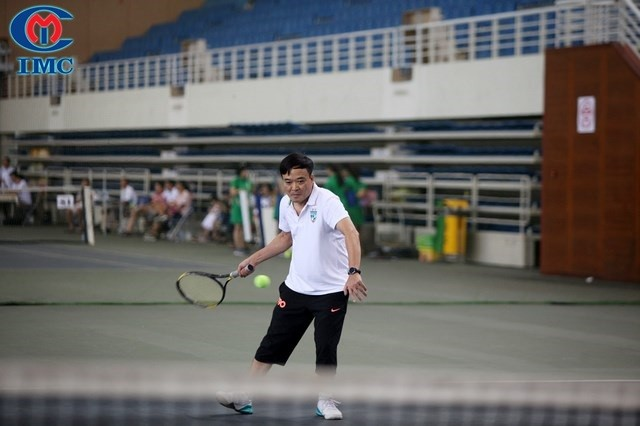 IMC – Nhà tài trợ bạc giải Tennis Thực phẩm chức năng vì sức khỏe cộng đồng