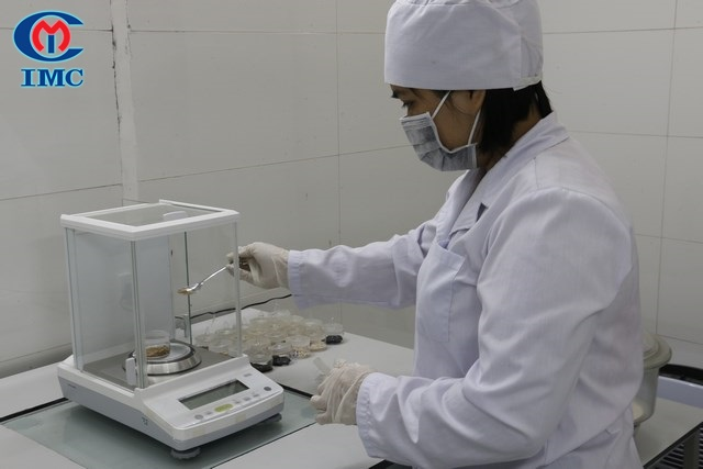 kiem nghiem, nhà máy sản xuất thực phẩm chức năng, nhà máy SX TPCN, SX TPCN, kiểm nghiệm đông dược, đông dược, sản xuất đông dược, IMC