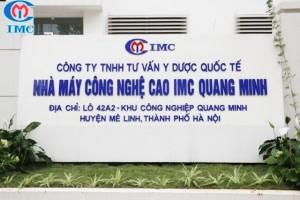 IMC – Tuyển nhân viên kế hoạch vật tư tại Khu Công Nghiệp Quang Minh