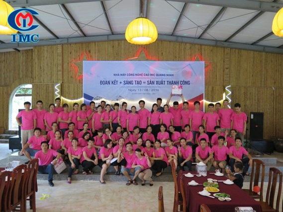 IMC - Nhà máy Công nghệ cao IMC Quang Minh: Đoàn kết+sáng tạo=SX thành công