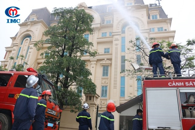 Hệ thống IMC – Đào tạo phòng cháy chữa cháy năm 2017