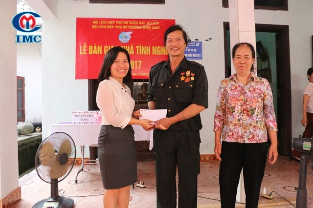 IMC – Hỗ trợ tặng nhà tình nghĩa tại Quận Bắc Từ Liêm Hà Nội
