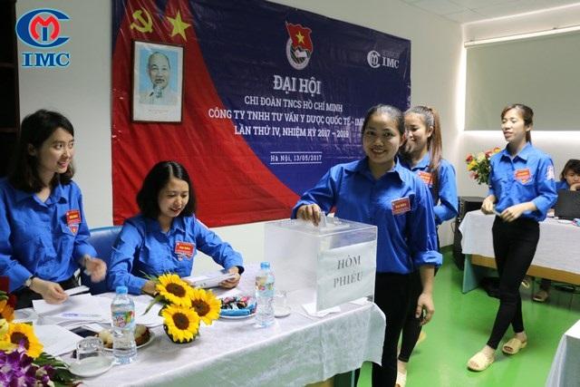 IMC – Đại hội Chi đoàn nhiệm kỳ 2017 – 2019 thành công tốt đẹp