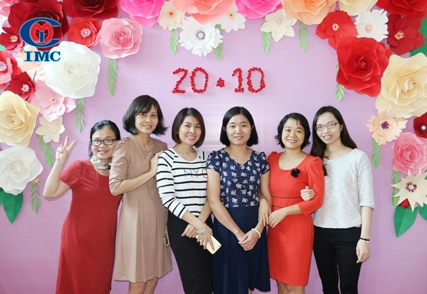 IMC – Tưng bừng ngày Phụ nữ Việt nam 20/10