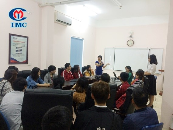 IMC – Tưng bừng chào đón 40 em sinh viên cho mùa thực tập 2017