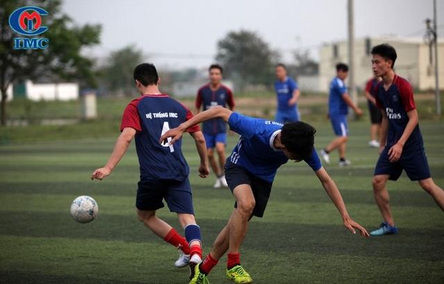IMC tham gia Giải bóng đá TPCN vì sức khỏe cộng đồng lần thứ I