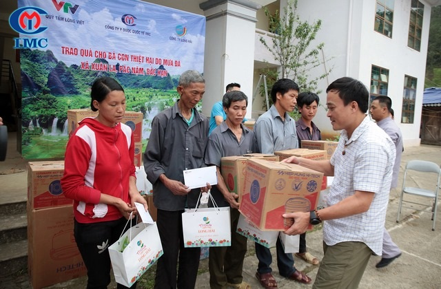IMC – Cứu trợ khẩn cấp tới các gia đình tại Xuân La – Pắc Nặm – Bắc Kạn trong trận mưa đá lịch sử.