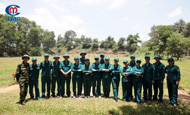 IMC – Công tác tập huấn Dân quân tự vệ năm 2018