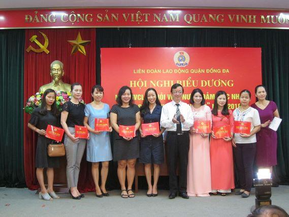 """IMC – DS Nguyễn Hồng Vân – Đạt danh hiệu """"Giỏi việc nước – Đảm việc nhà"""" năm 2018"""