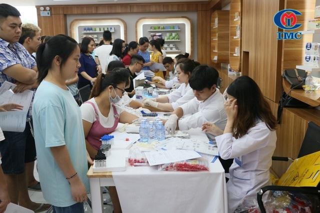 IMC – Tổ chức khám chữa bệnh cho CBCNV