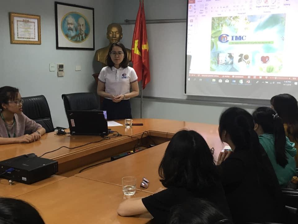 IMC – Tưng bừng chào đón 23 em sinh viên cho mùa thực tập 2019
