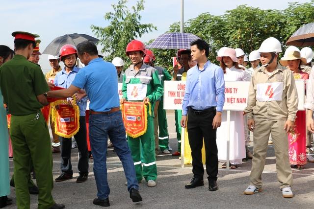 IMC hết mình trong hội thi nghiệp vụ chữa cháy, cứu nạn cứu hộ Lực lượng PCCC cơ sở