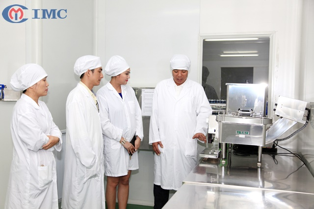 IMC - Sản xuất mỹ phẩm thiên nhiên trọn gói