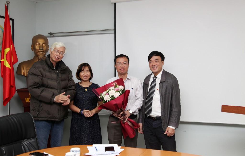 Tổ chức thành công đại hội 3 chi bộ trực thuộc Đảng bộ Công ty TNHH Tư vấn Y Dược Quốc tế