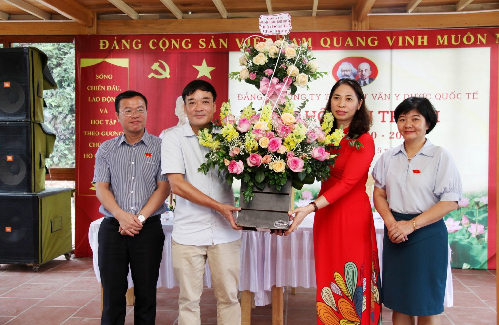 Tổ chức thành công đại hội Đảng bộ Công ty lần thứ III