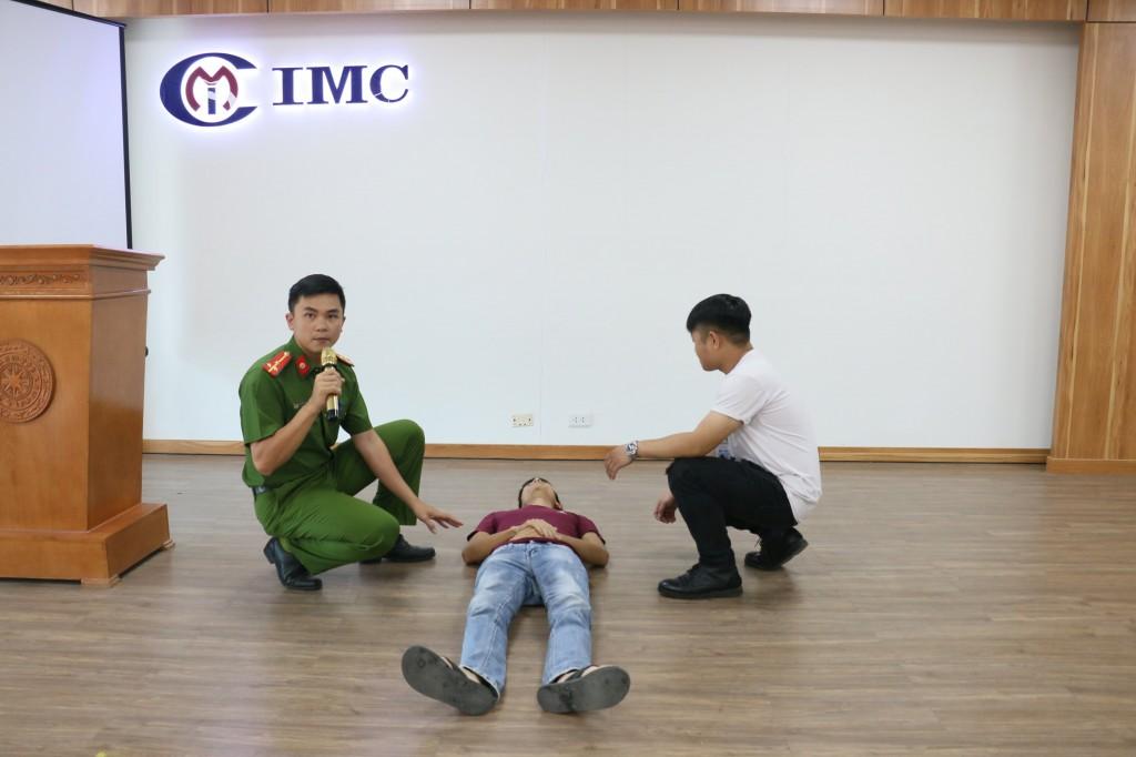 IMC tổ chức đào tạo và diễn tập Phòng cháy chữa cháy tại nhà máy IMC Quang Minh 2