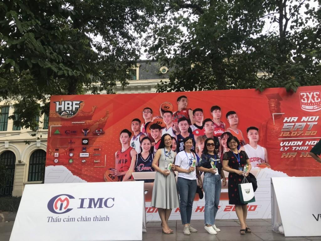 IMC tài trợ giải phong trào bóng rổ 3x3 HBF 2020