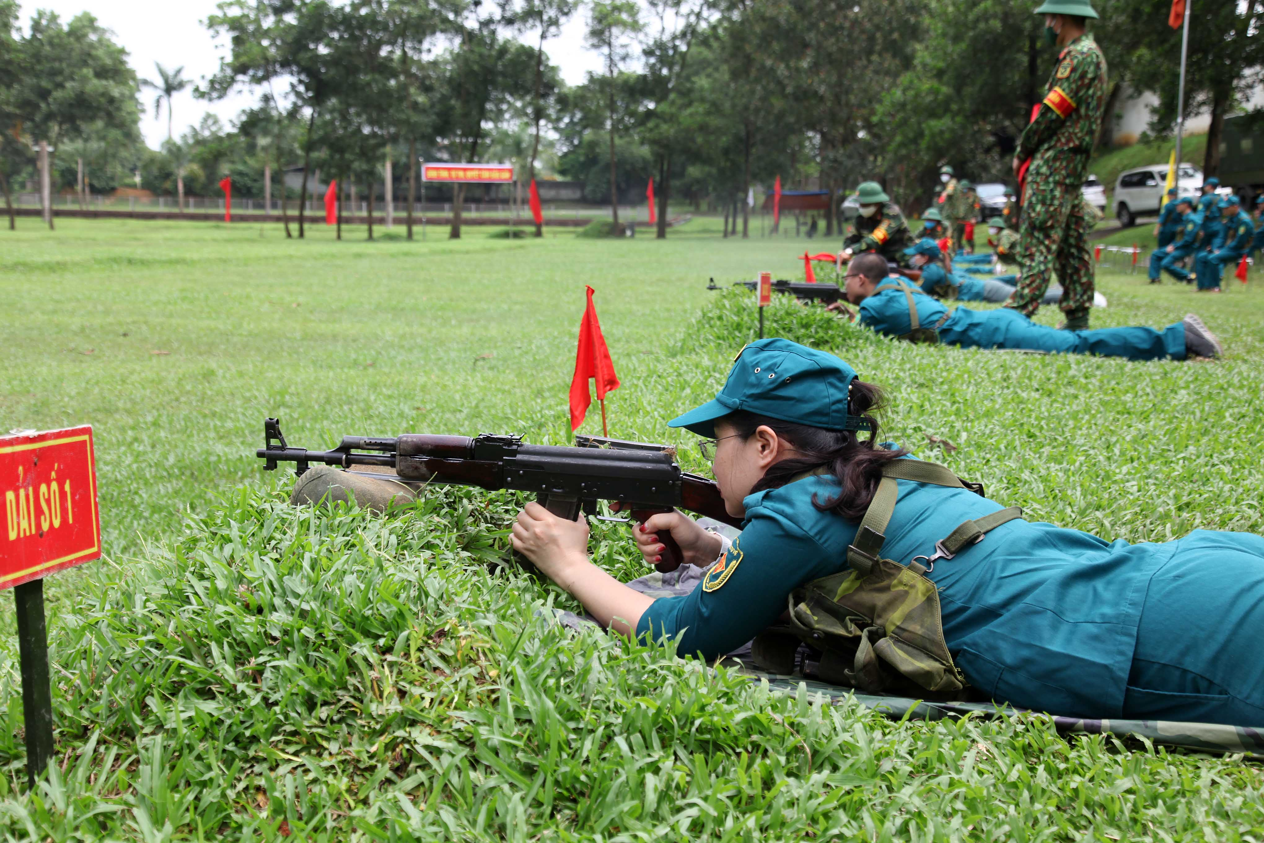 IMC Tập huấn bắn đạn thật 2020