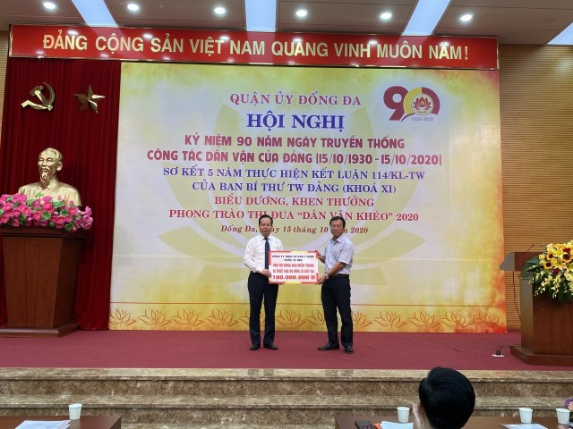 IMC supports victims of storm and flood in Central Vietnam.