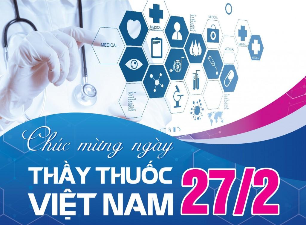 Chúc mừng ngày Thầy Thuốc Việt Nam 27 - 2