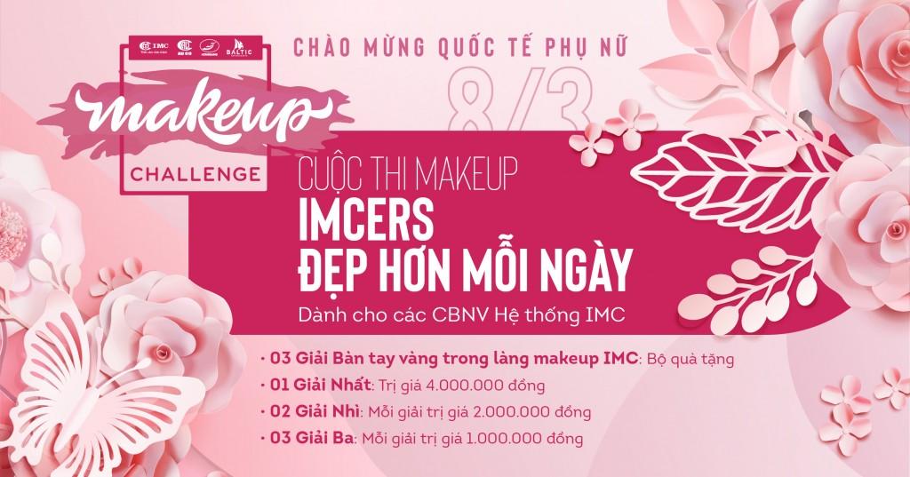 Cuộc thi Makeup: IMCers - đẹp hơn mỗi ngày